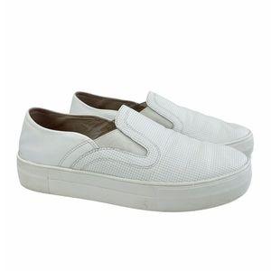 Vince Camuto Kyah 2 Platform White Slip-On Sneaker